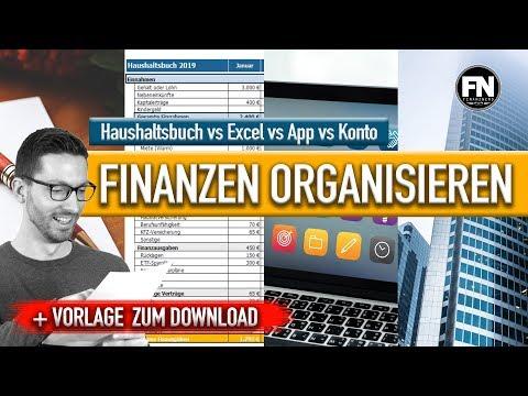 Finanzen organisieren 2019