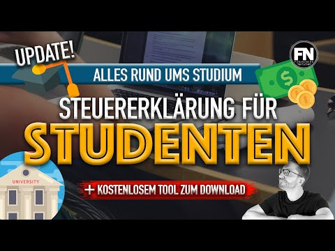 Studenten Steuererklärung
